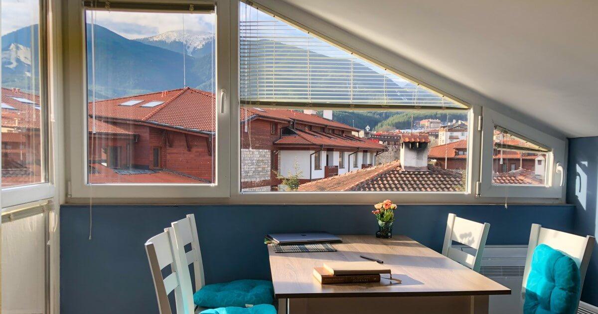 вид с квартиры в Болгарии